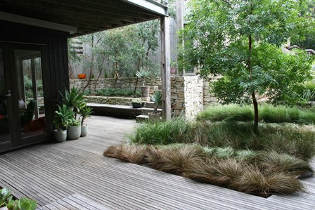 Sunnymeade courtyard sml ocean road landscaping for Courtyard landscaping australia